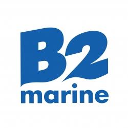 Stickers B2 marine pour bateau