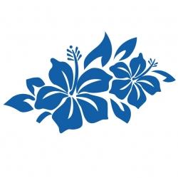 Hibiscus Hawaii sticker 1