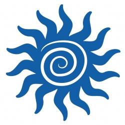 Stickers Soleil Hawaii sticker pour bateau