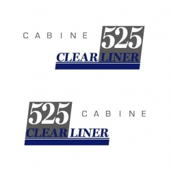 CLEAR LINER 525 cabine