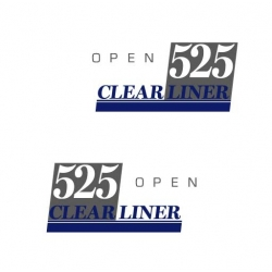 CLEAR LINER 525 open