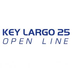Stickers KEY LARGO 25 pour bateau
