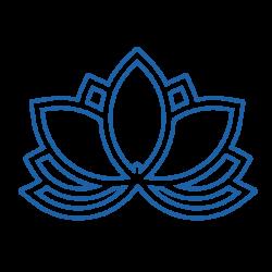 Stickers Fleur de lotus N°4 pour bateau