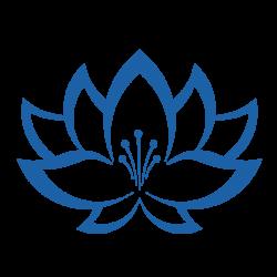Stickers Fleur de lotus N°5 pour bateau