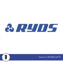 Stickers Ryds pour bateau