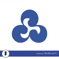 Stickers Ryds (logo seul) pour bateau