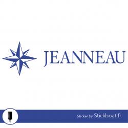 Stickers Jeanneau Ancien pour bateau