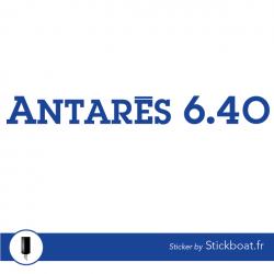 Stickers Antarès 640 pour bateau