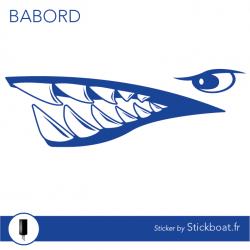 Stickers Dents de requin pour bateau