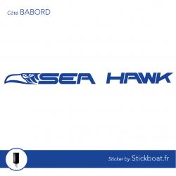 Stickers Sea Hawk (complet) pour bateau