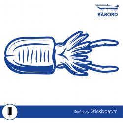 Stickers Sèche 2 pour bateau