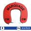 Stickers Marquage pochoir pour bouée PVC ou TISSU pour bateau